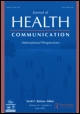 Cover image: Special Issue of Journal of Health Communication (2006 May):11;Supp1. The Health